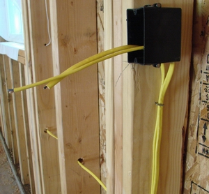Install Garage Electrical Wiring