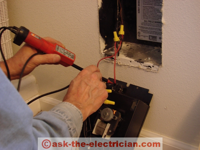 how to wire a 220 volt heater circuit to sub panel