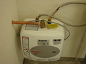 small water heater circuit