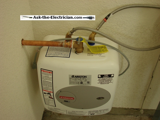 how to repair a water heater tripping circuit breaker Electric Water Heater Circuit wiring water heater to breaker box
