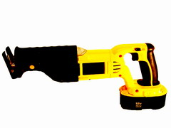 electricians reciprocating cordless saw