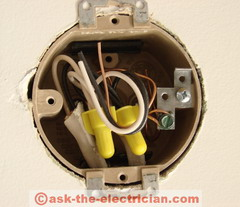 Wall Fixture Junction Boxes
