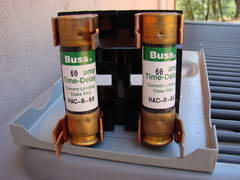 cartridge fuses for large electrical appliances