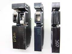 Contact Surfaces Of Zinsco Circuit Breakers