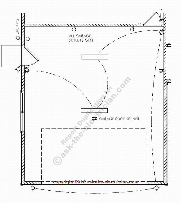 Wiring Diagram For Attached Garage : Wiring diagram for detached garage get free image about