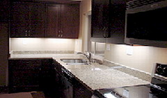 kitchen counter top light fixtures