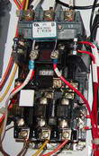 how to wire a 3 phase air compressor motor relay