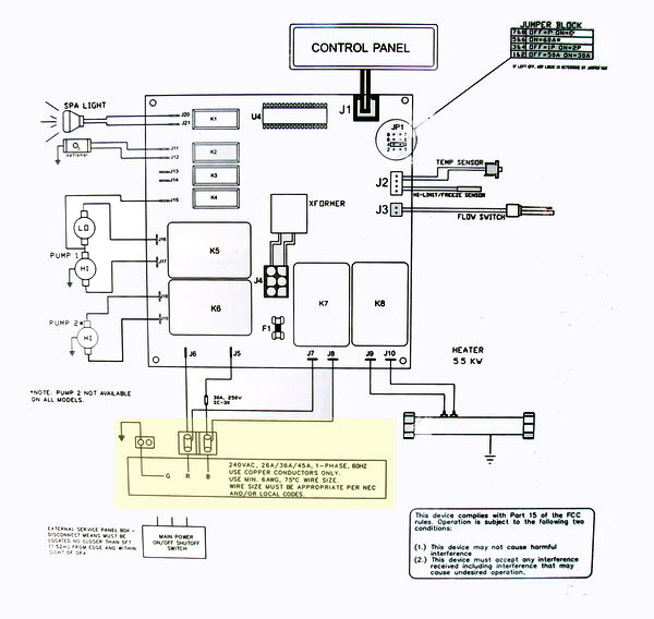 hot tub wiring diagram hot tub wiring diagram