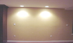 wall recessed can light fixtures