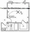 bedroom wiring diagram