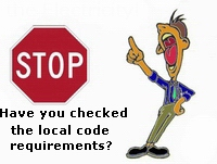 check local code reqs