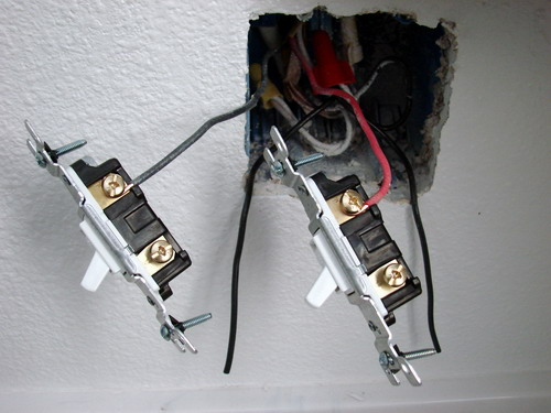 how to install a bathroom exhaust fan single pole switch