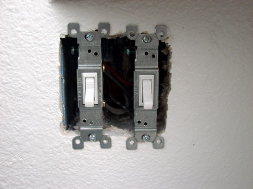 Single Pole Light Switch Wiring
