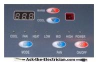 Heat Pump Control Panel