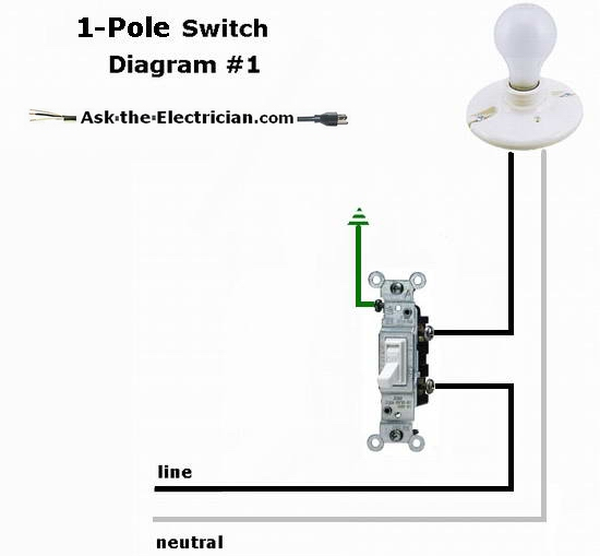 Wiring Diagram For A Leviton Dimmer Switch : Wiring diagram for light switches