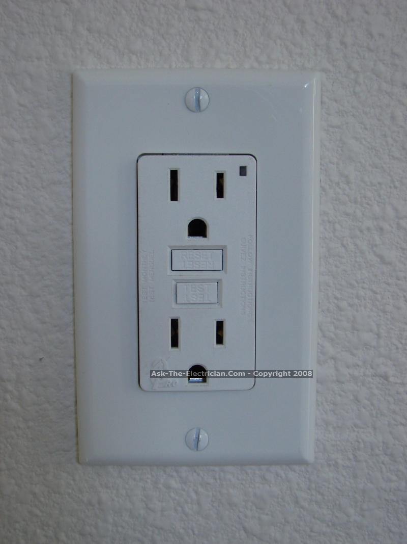 Gfci Outlet Wiring Methods Diagram With The Switch Separate Feed Through 12
