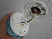 mounting smoke detector