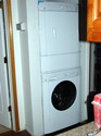stack washer dryer unit electrical