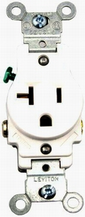 Single Receptacle Outlet 20Amp 120Volt