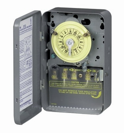 water heater time clock control energy saver