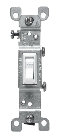 Light Switch, Single Pole 120Volt