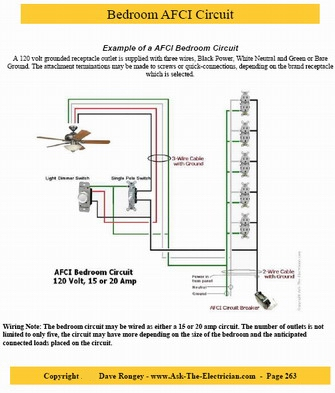 afci wiring for house guide to home electrical wiring: fully illustrated ... light switch toggle switch wiring for house