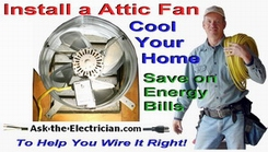 Wire a Attic Fan