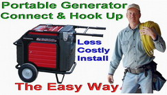 Connect a Portable Generator to a Home