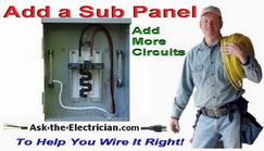 add a sub panel