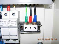 wiring terminal strip