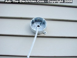 How To Install A Security Motion Detector Light Fixture