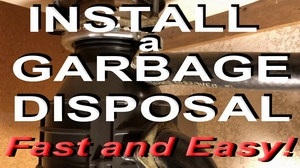 install and wire a garbage disposal