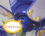 ceiling fan switch close up
