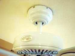 ceiling fan canopy