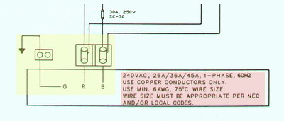 hot tub wiring diagram Hot Tub Pump Wiring