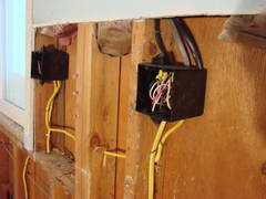 kitchen remodel electrical wiring