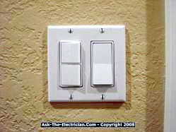How to install a ceiling fan and wire the switch wall switch for ceiling fan aloadofball Choice Image