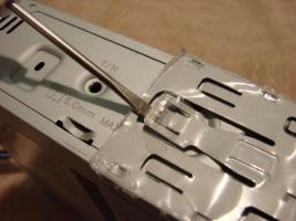 frame latch tab