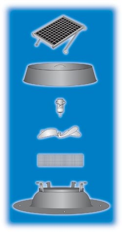 Solar Fan Parts